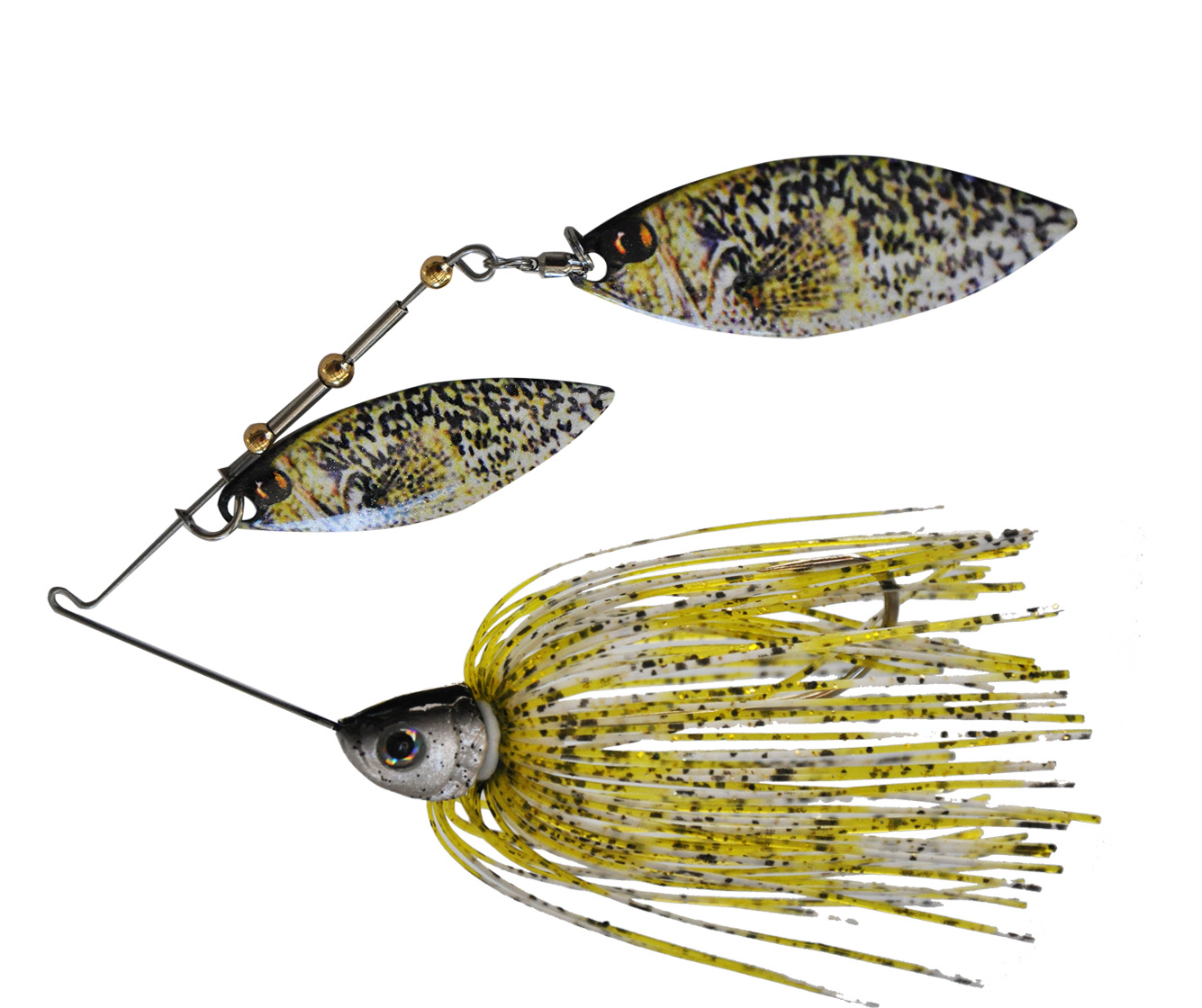 Persuader baits releases new imaged blade spinner baits for Bass fishing lures
