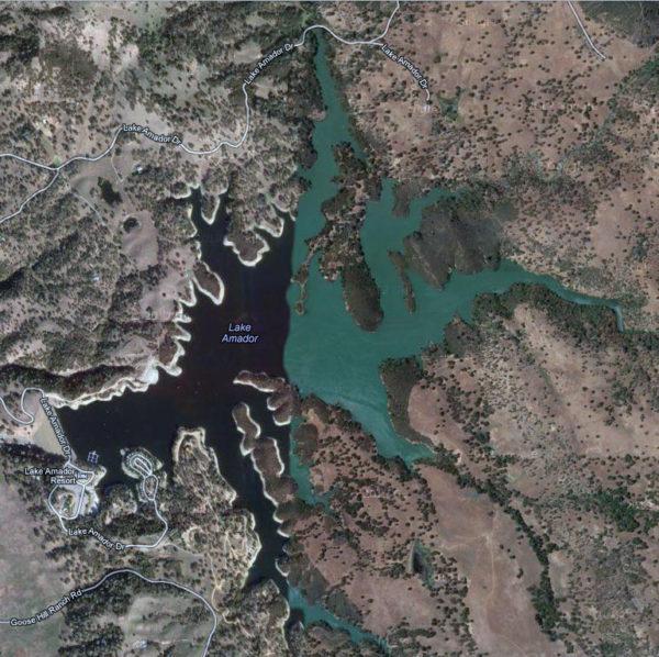 Lake Amador Map