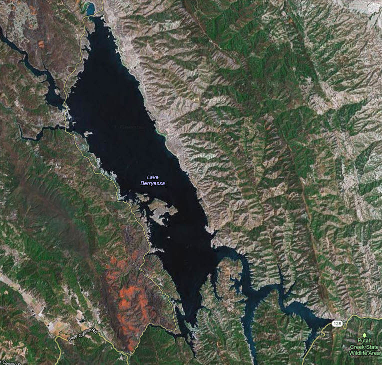 Lake Berryessa Fire Map.Lake Berryessa Fishing Report By Ryan Hall Rb Bass Fishing