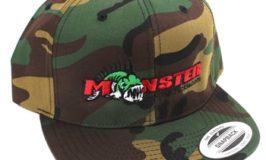 Monster Fishing Camo Hat