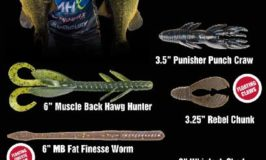 Press Release-X-Zone Pro Series Lures Joins RB BASS